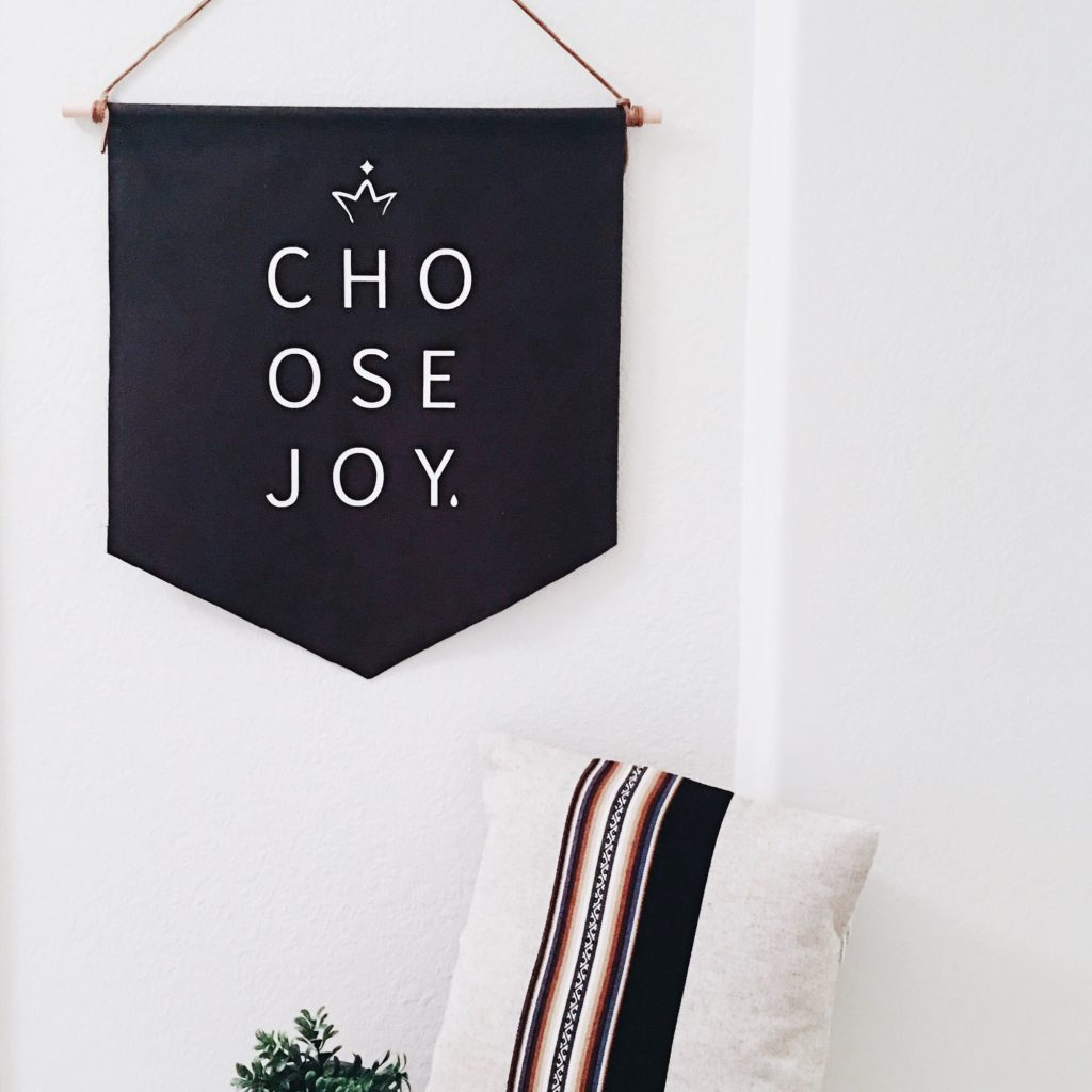 positive affirmation wall hanging